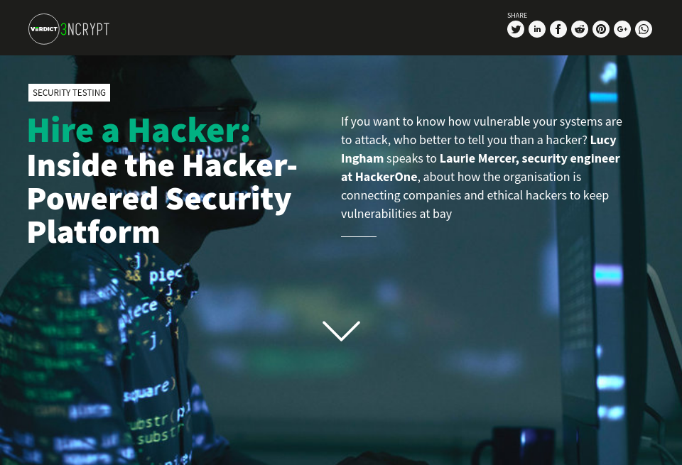 Hire a Hacker: Inside the Hacker-Powered Security Platform